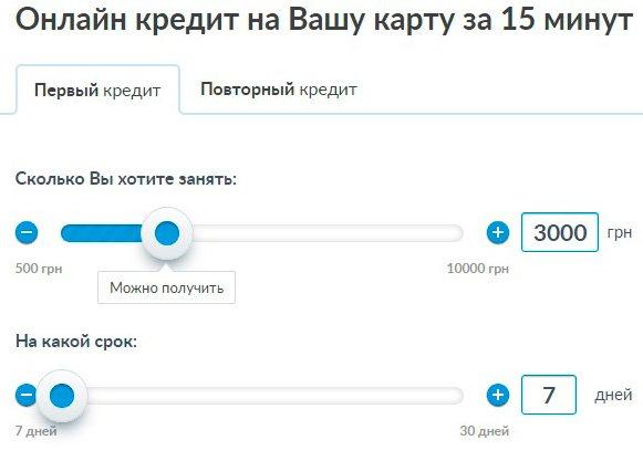 credit365 калькулятор